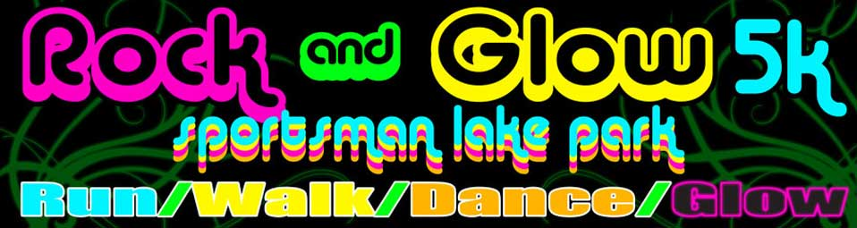 Sportsman Lake Park Rock & Glow 5K
