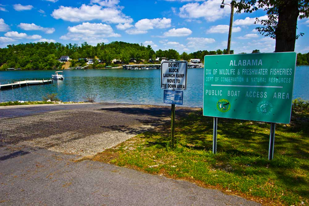 Cabins And Pavilions Public Access Boat Ramp
